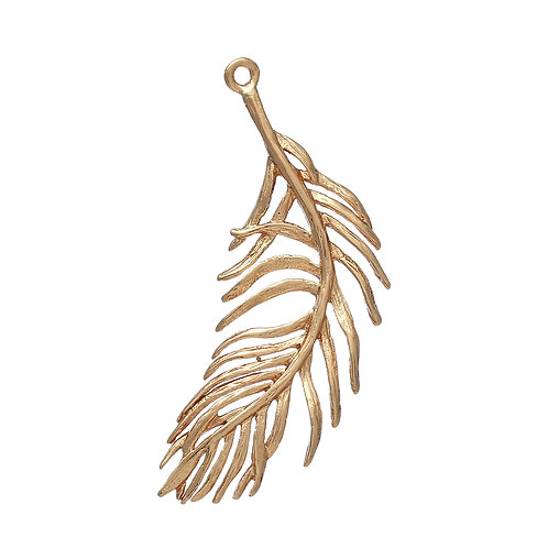 Fern Feather - Light Gold