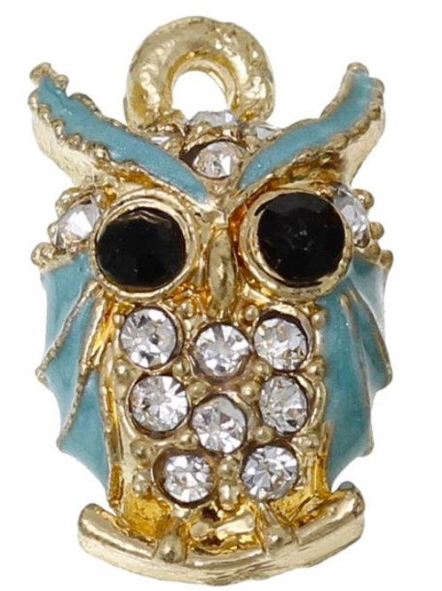 Blue Owl - Light Gold
