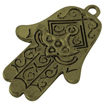 Hamsa Hand - Bronze