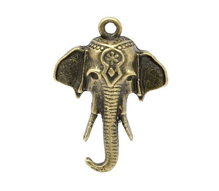 Elephant Head - Bronze
