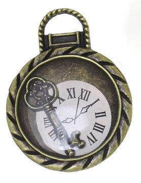 Key Clock - Bronze