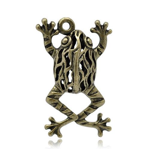 Jumping Frog - Bronze