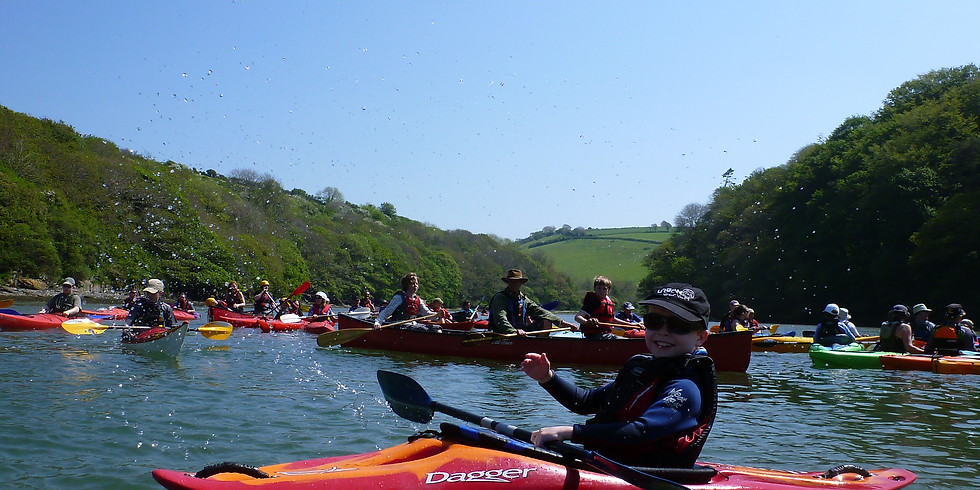 River Avon Trip: Bantham to Aveton Gifford and back