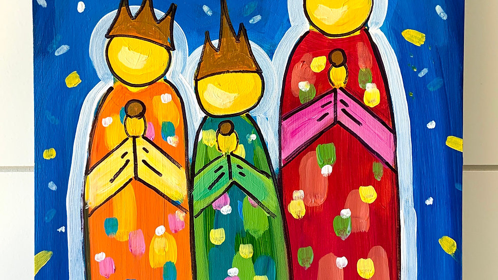 Three Wise Men Painting