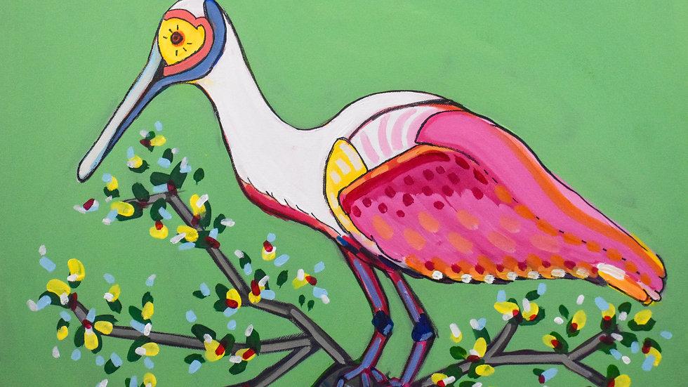 """Lady Bird"" Print"