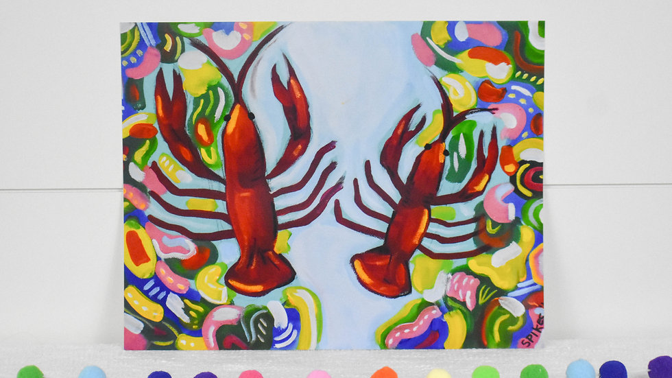 """Crazy Crawfish"" Print"