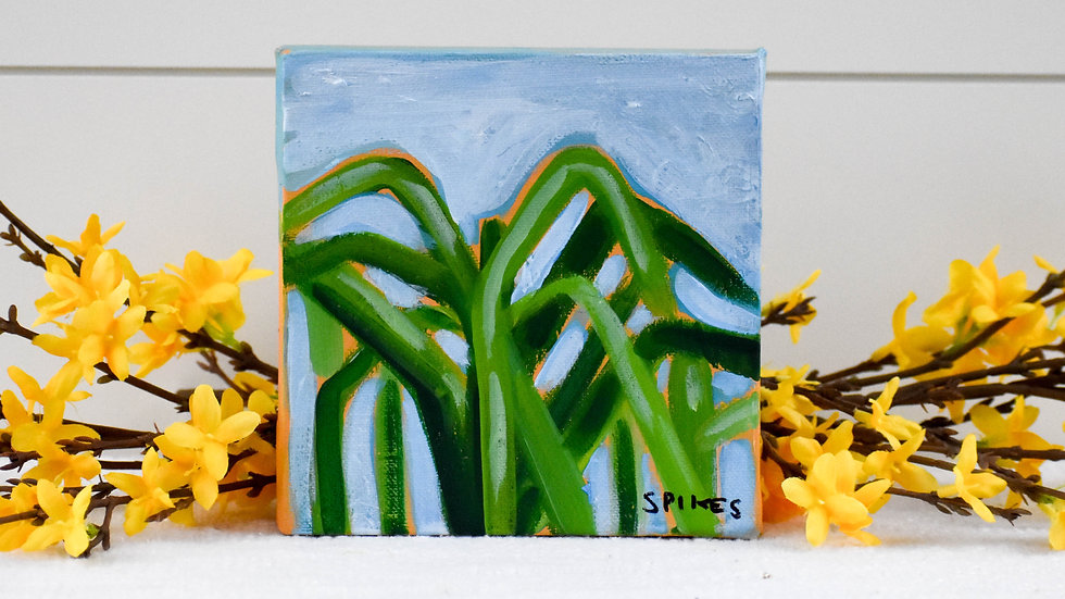 Mini Sugarcane Painting