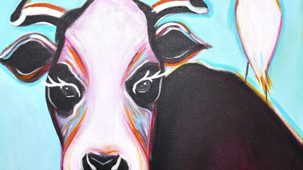 Mini Cow Print