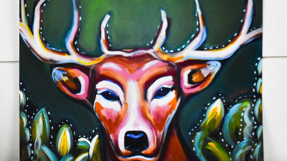 """""""Deer"""" Print"""