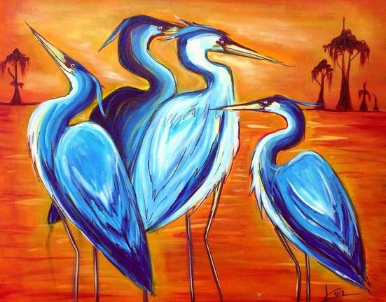 Four Blue Herons.JPG