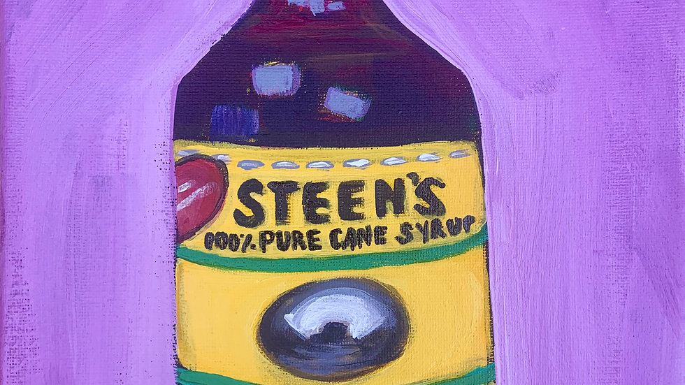 Steen's Syrup painting