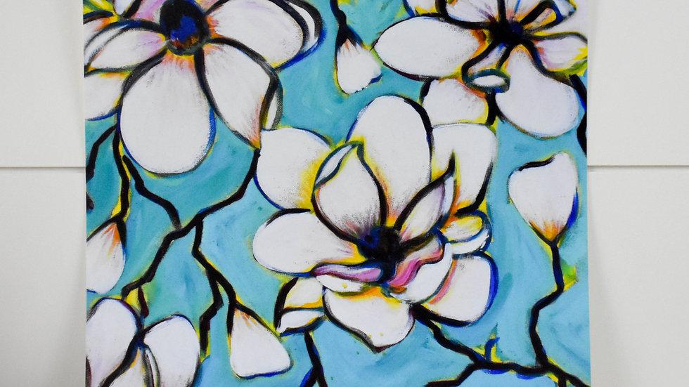 """""""Intertwining Magnolias"""" Print"""