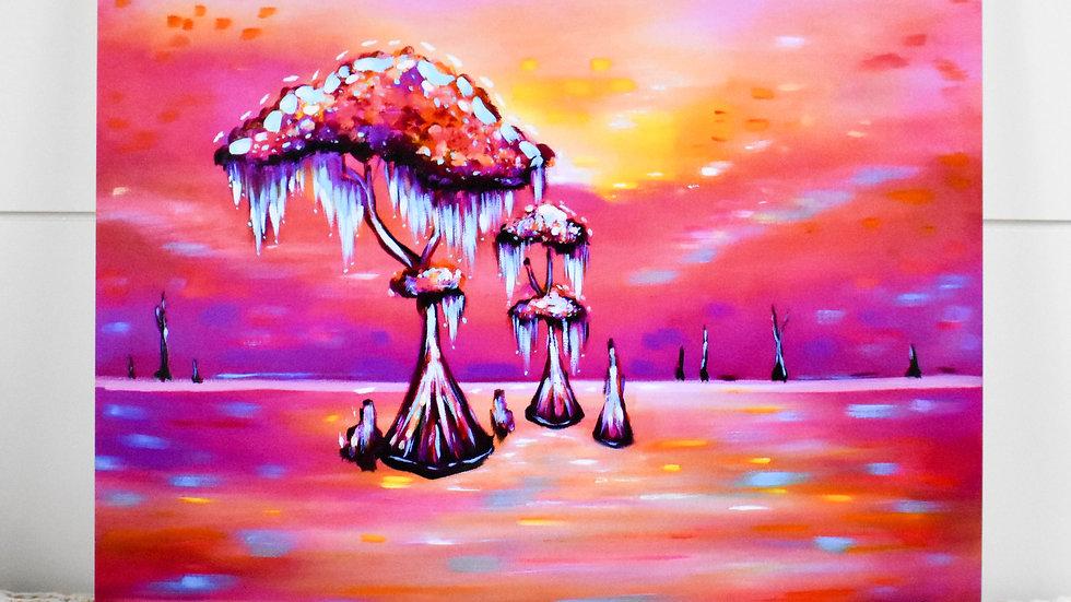 """Candy Cypress"" Print"