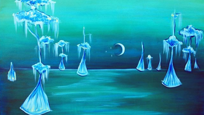 Dreamy Cypress