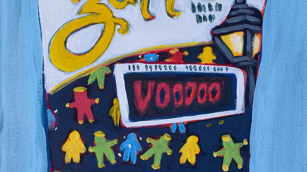 Zapp's VooDoo Chips painting
