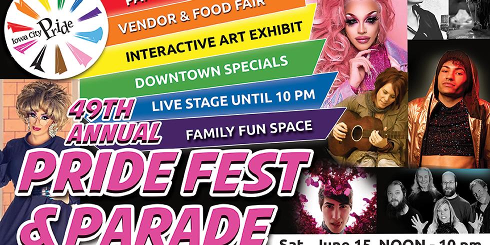 Iowa City Pride Fest & Parade