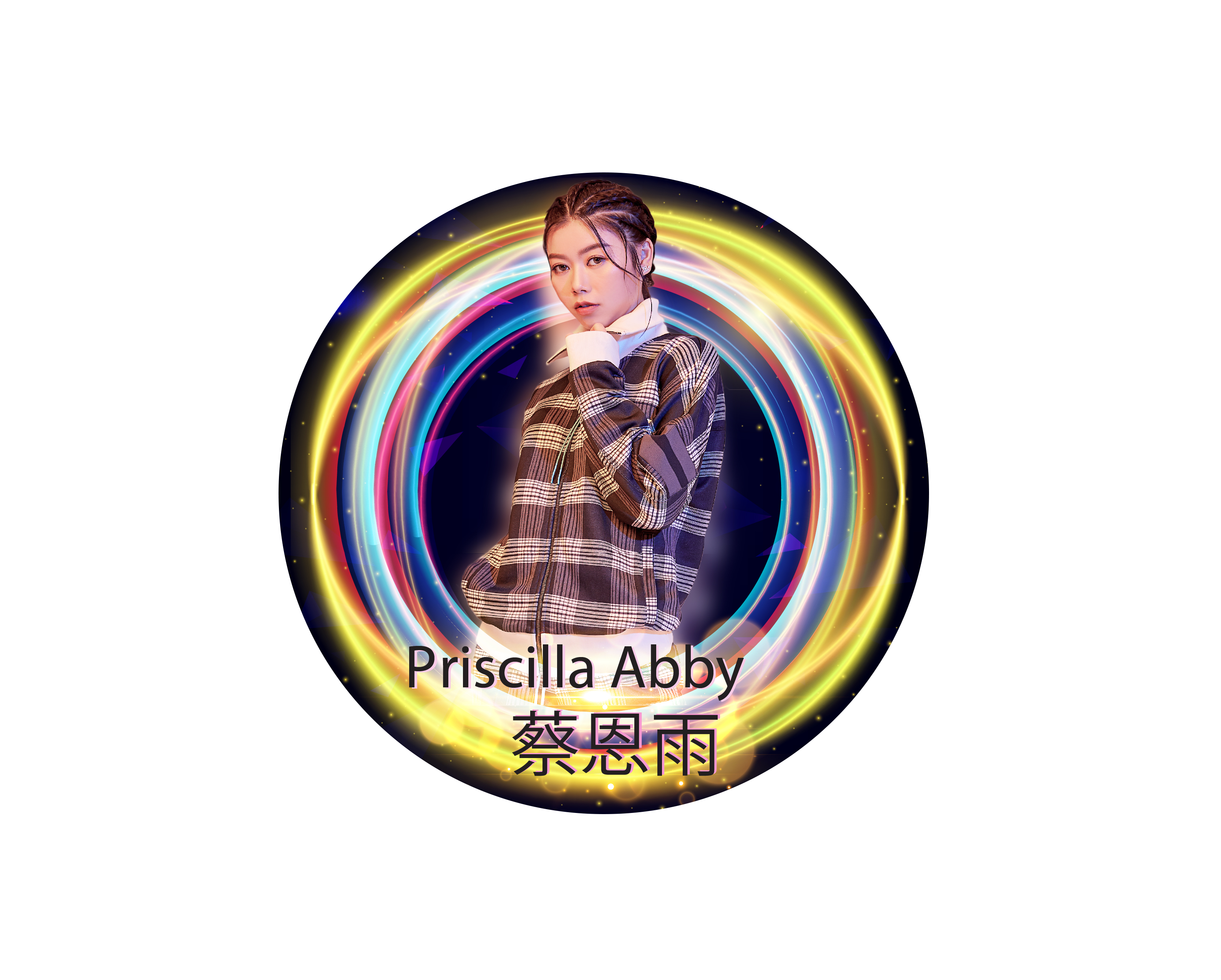 neon artist Priscilla