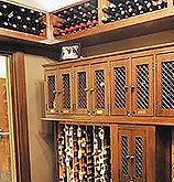 wine room lockers