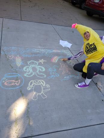 Banana Girl Gets Creative