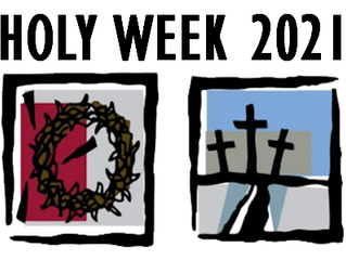Holy Week and Easter Sunday schedule