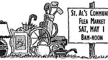 May 1 - St. Aloysius Flea Market