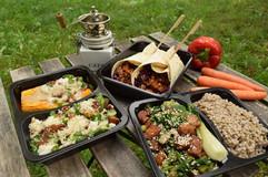 Vegetarian jídelníček na jeden den
