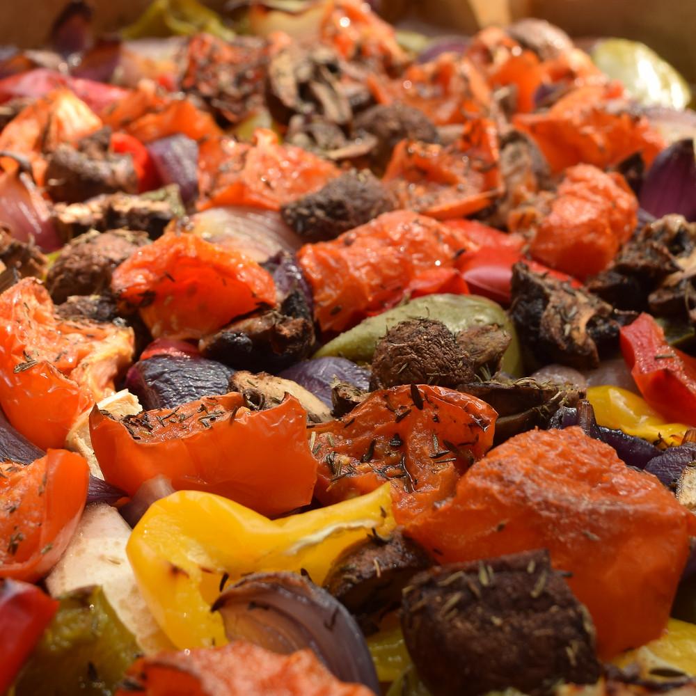Grilovaná zelenina jako vhodná zeleninová příloha