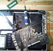 Réparation carte mère macbook