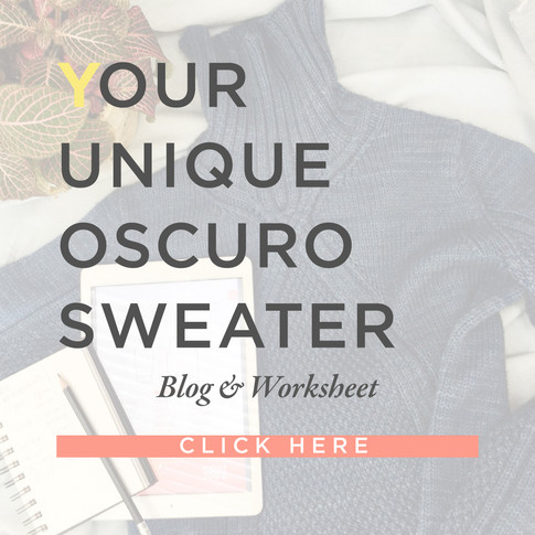 Your unique Oscuro Sweater
