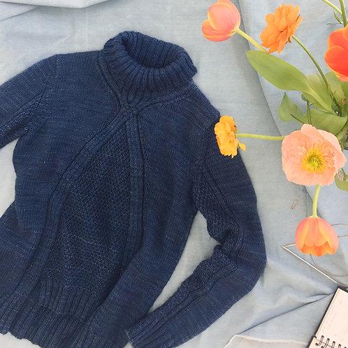 Oscuro Sweater Knitting Pattern