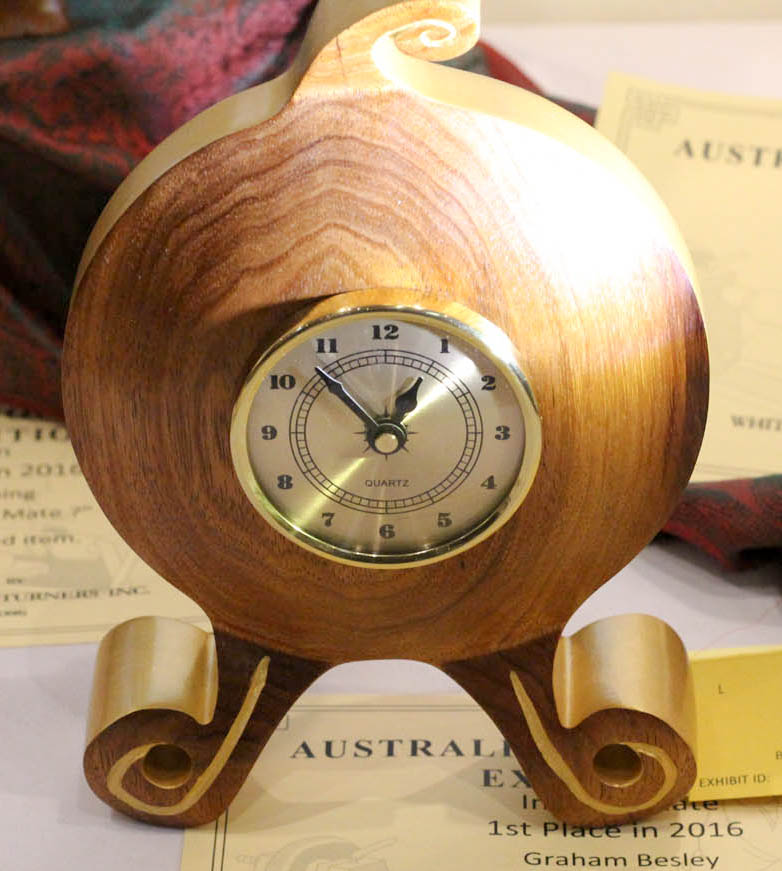 Graham Besley - Intermediate Clock, 1st Place