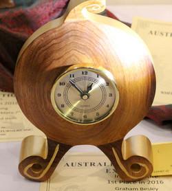 Graham Besley - Intermediate Clock, 1st Place