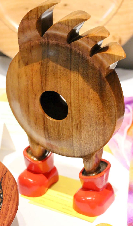 Graham Besley - Intermediate Wood Art, 2nd Place