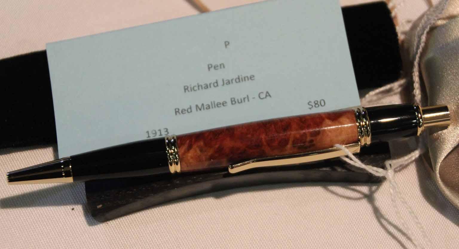 Richard Jardine Novice Pen, Red Mallee B