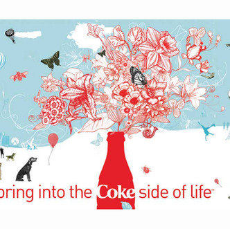Spring into the Coke Side of Life