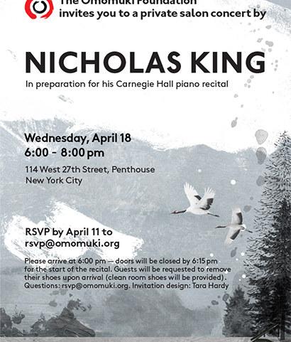 Invitation - Nicholas King