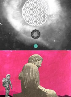 Buddha in Space