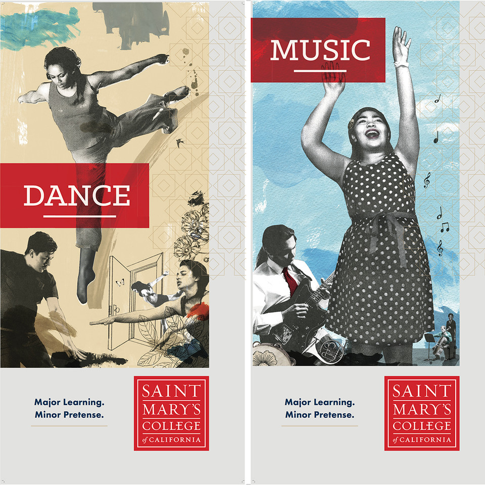 Dance and Music Banners