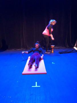 Yogaprøve i Blåboks