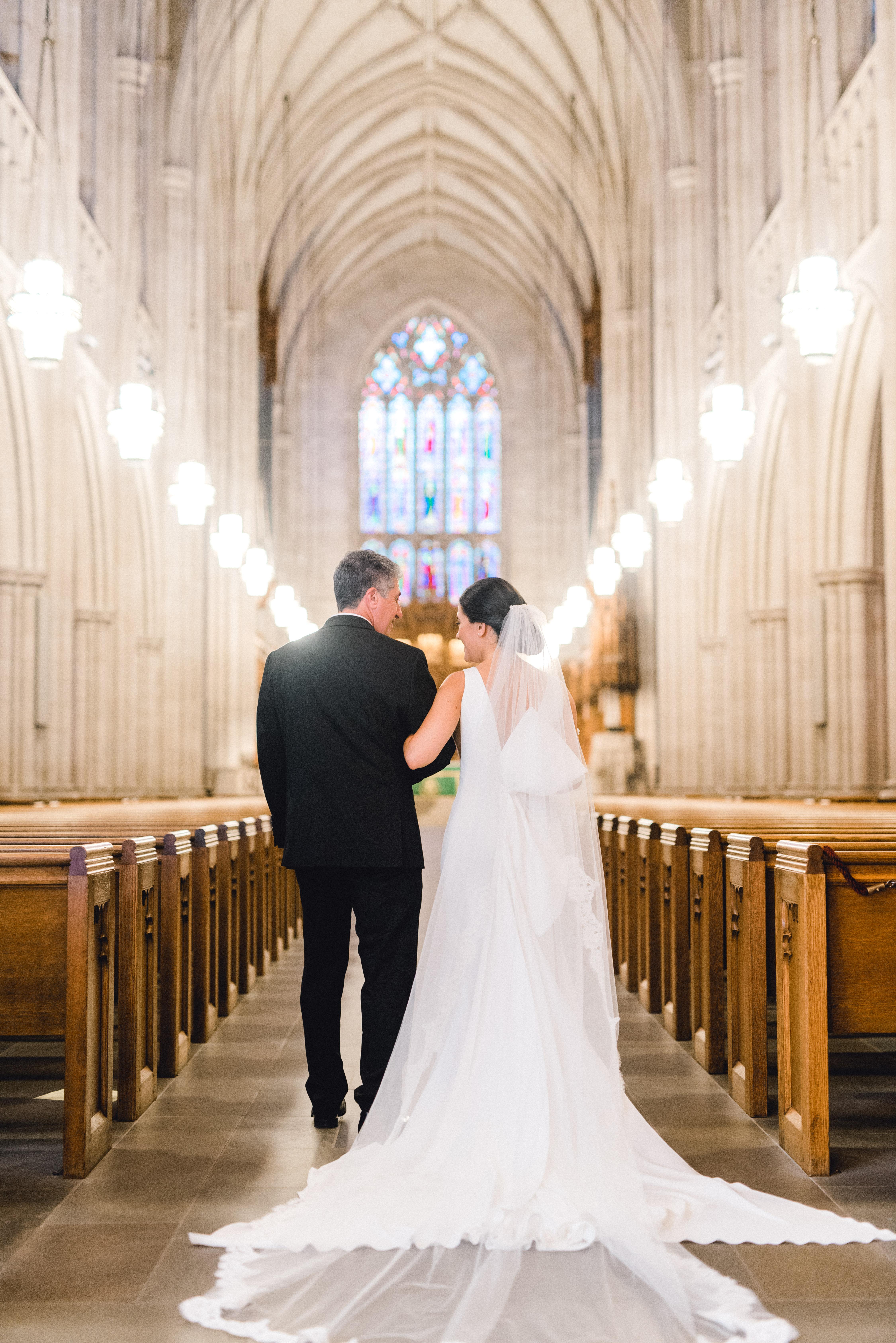 duke chapel gardens wedding