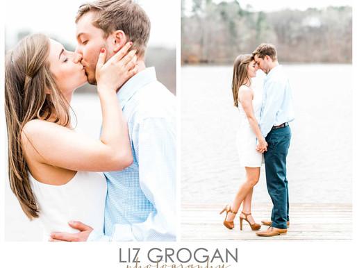 Raleigh Wedding Photographer | Emily + Ryan Engaged | Merrimon-Wynne House Wedding