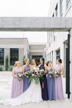 cadillac service garage wedding