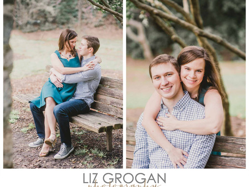 RALEIGH WEDDING PHOTOGRAPHER |  BRITTANY + CHRIS ENGAGEMENT