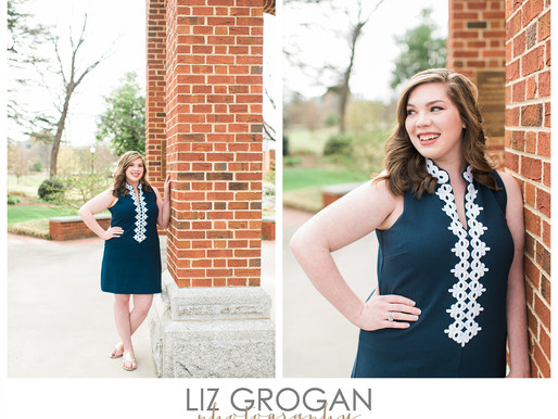 Morgan | Class of 2017 | Greensboro Portrait Photographer
