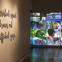 Venus Retrograde (installation view of False Idylls and Live, Laugh, Love)
