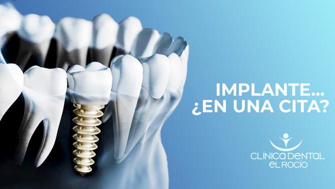 Implante... ¿En una cita?