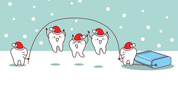 Cuidar la salud dental en invierno.