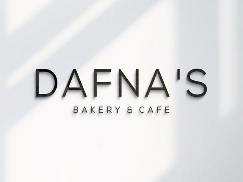 ריענון לוגו ומיתוג DAFNA'S BAKERY & CAFE