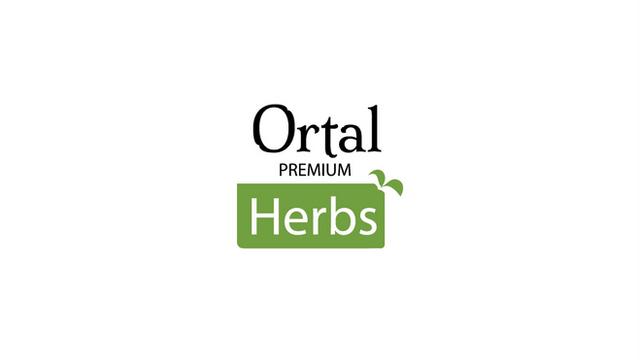 Ortal Herbs לוגו לתת מותג