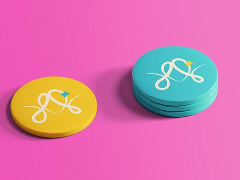 עיצוב לוגו ומיתוג לשרי שמואלי, מקסום כישורים בקלות